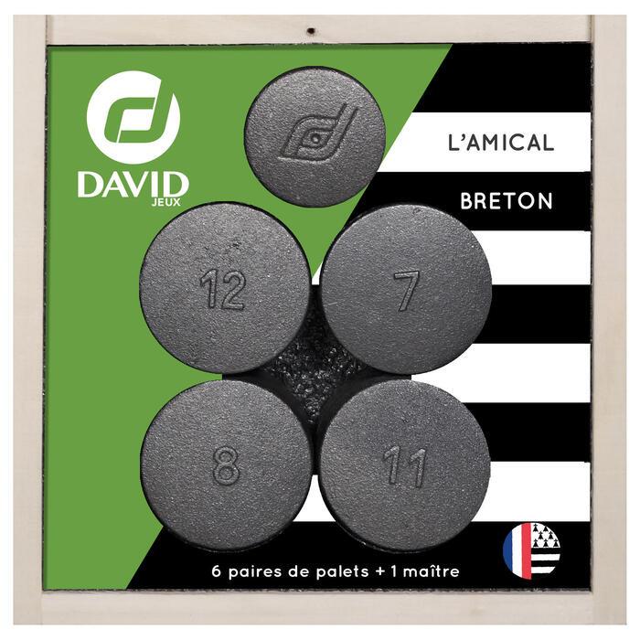 12 PALETS + 1 MAÎTRE L'AMICAL BRETON
