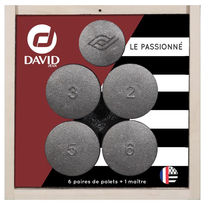 6 PAIRES DE PALETS LE PASSIONNE + 1 MAÎTRE