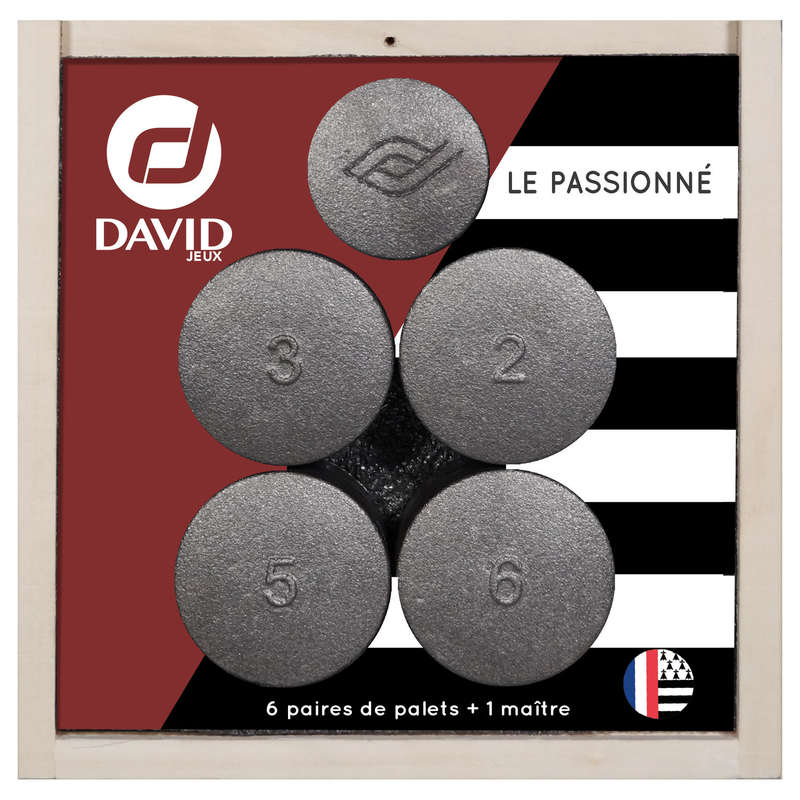 PUCKS Skittles and Pallet - Disc Set Le Passione DAVID - Sports