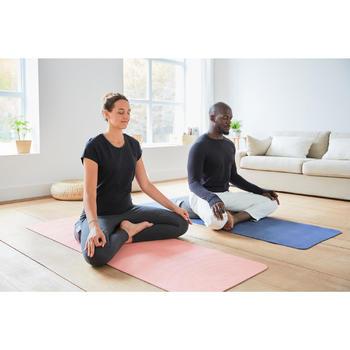 Zafu / rond kussen voor yoga en meditatie gemêleerd grijs