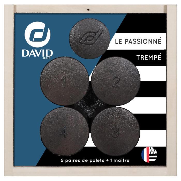 6 PAIRES DE PALETS LE PASSIONNE TREMPE + 1 MAÎTRE