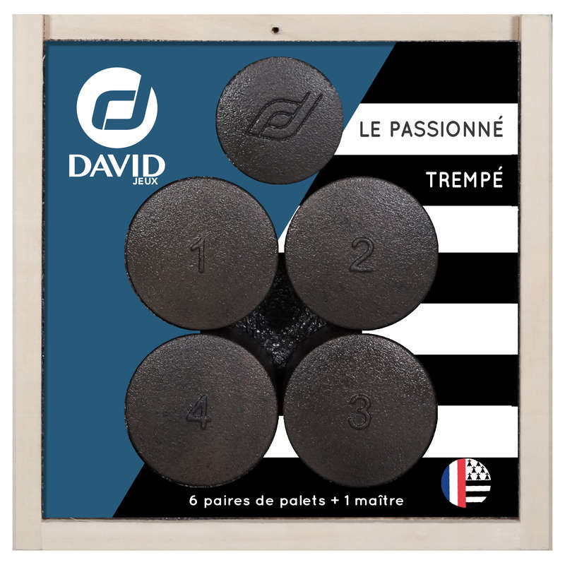 PUCKS Skittles and Pallet - Tempered Disc Set Passione DAVID - Sports