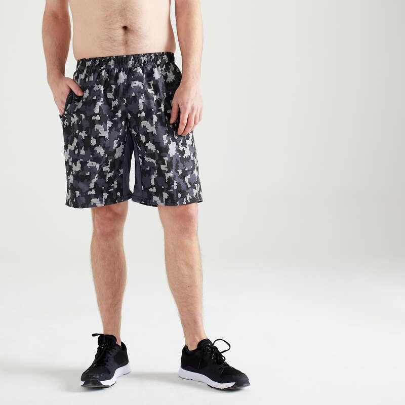 ABBIGLIAMENTO UOMO CARDIO FITNESS Fitness - Pantaloncini uomo fitness 120 DOMYOS - Abbigliamento palestra