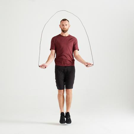 Men' Fitness Cardio Training T-Shirt 900 - Burgundy