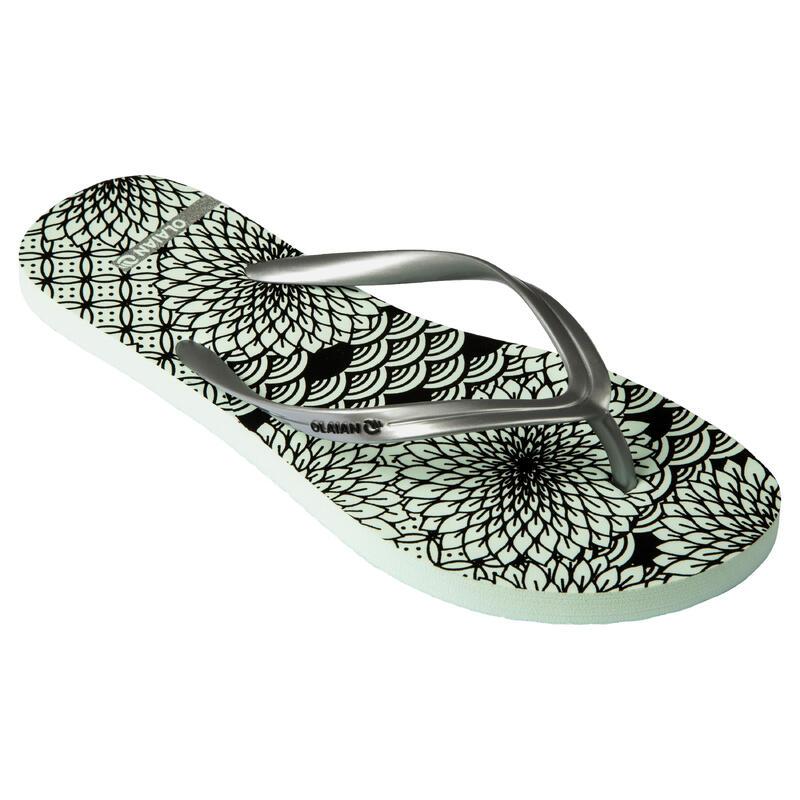 Slippers voor dames 120 Chiri groen