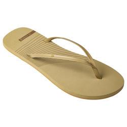 Slippers voor dames 150 zandkleur