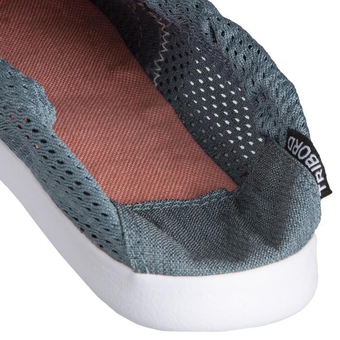 女款鞋Areeta-灰藍色