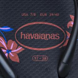 TONGS FEMME HAVAIANAS SLIM Floral Noir