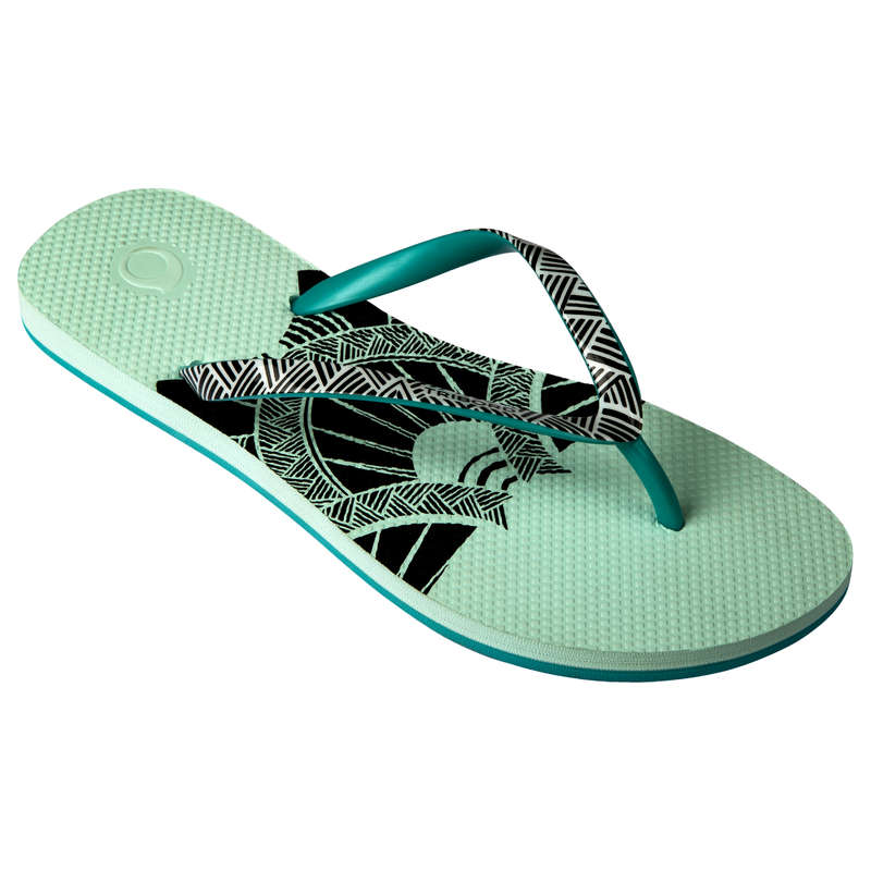 Női papucs Strand, szörf, sárkány - Női papucs szörfözéshez 500 OLAIAN - Bikini, boardshort, papucs