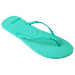 Slippers voor dames 150 turquoise