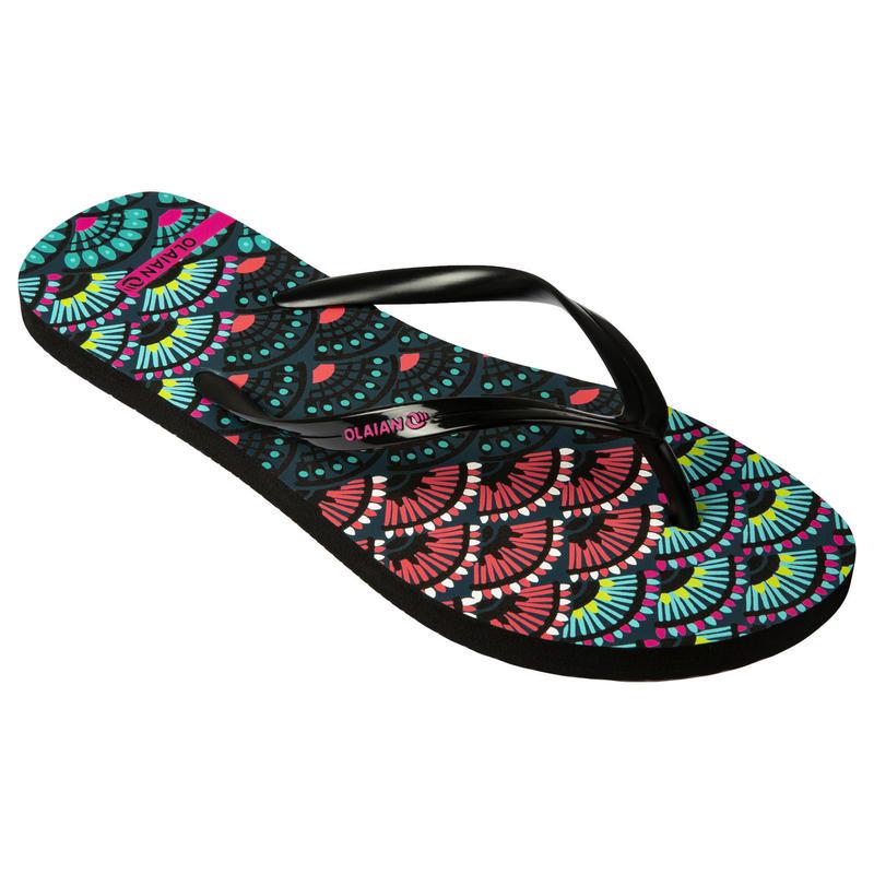 女款夾腳拖鞋120-摺扇款