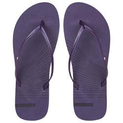 女款夾腳拖鞋150-紫色