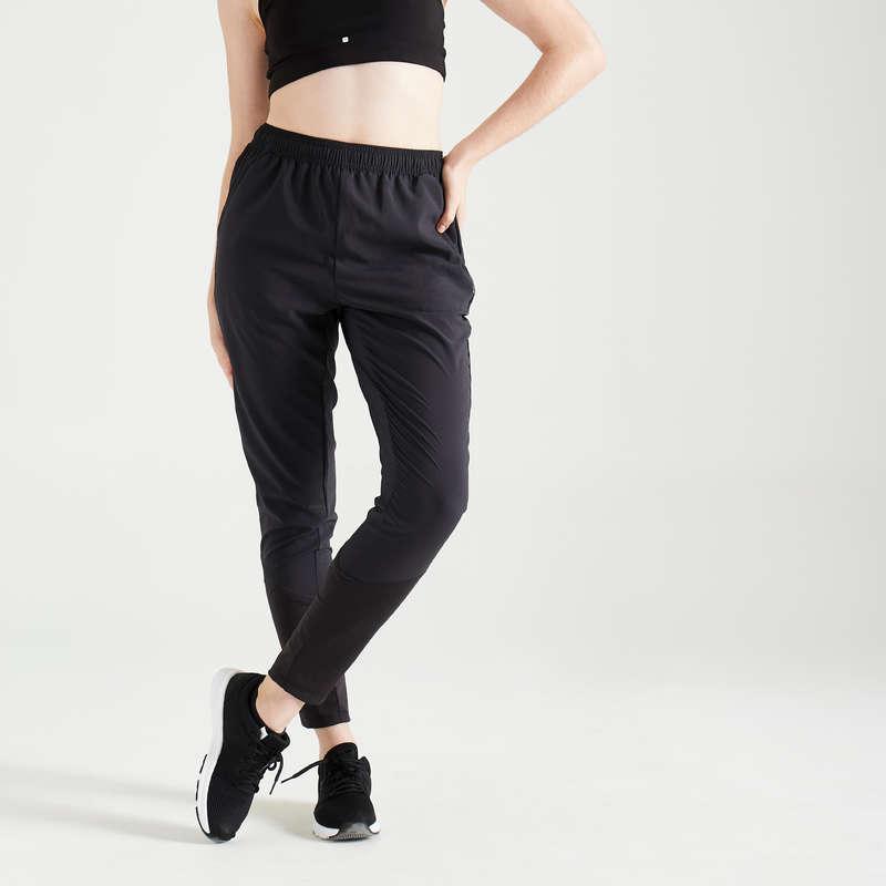 ABBIGLIAMENTO FITNESS CARDIO DONNA Fitness - Pantaloni donna cardio 100 DOMYOS - Abbigliamento palestra