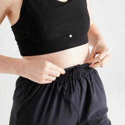 Fitness Carrot-Cut Jogging Bottoms - Black