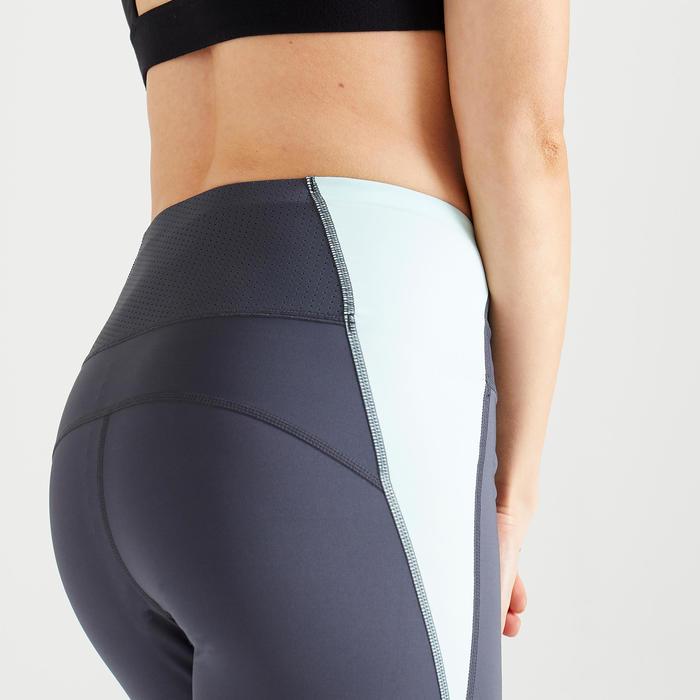 Legging fitness cardio training femme colorblock 500