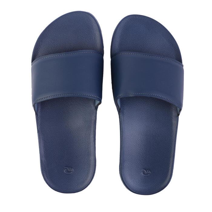 Badslippers heren blauw Slap 550