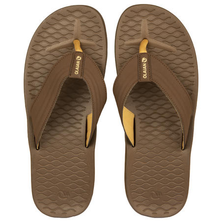 Sandal Flip-Flop Pria 550 - Coklat