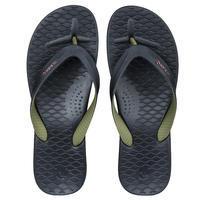 Men's Flip-Flops 500 - Black Khaki