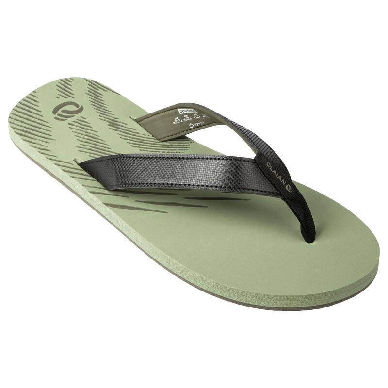 Men's Flip-Flops 150 - Light Khaki