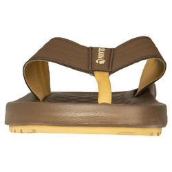 男款夾腳拖鞋550-棕色
