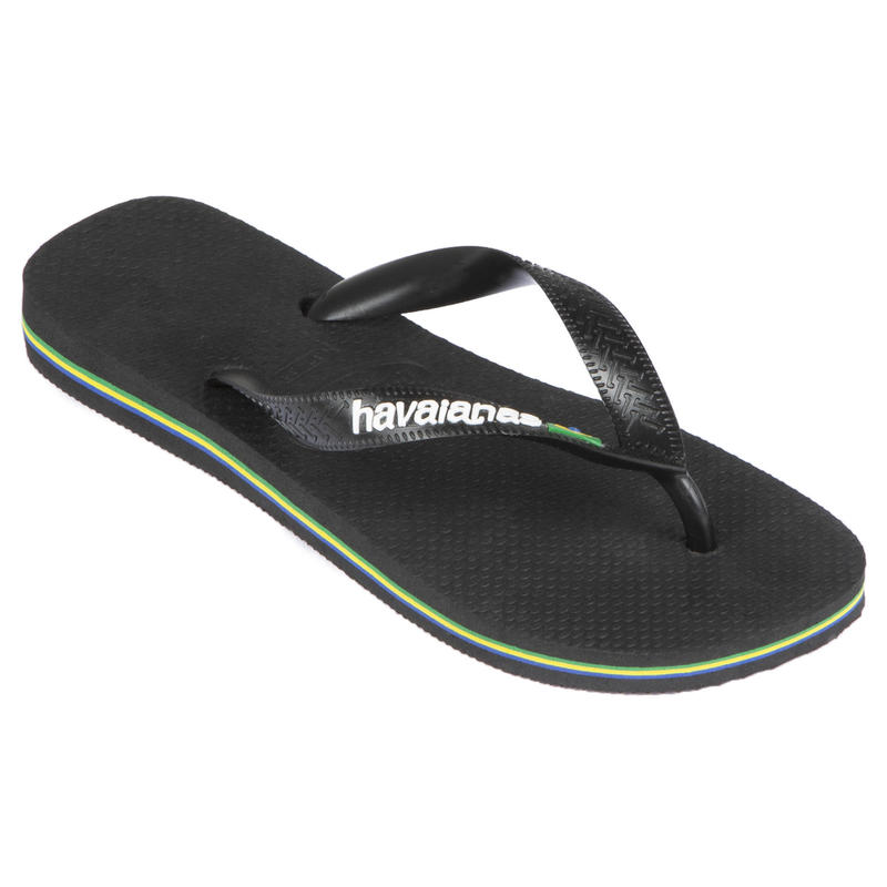 Papuci BRASIL Imprimeu Negru Bărbați