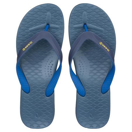 Sandal Flip-Flop Pria 500 - Biru