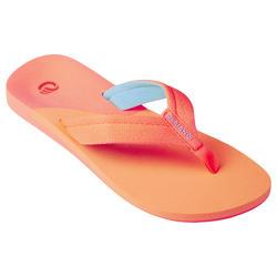 Slippers voor meisjes 550 koraal