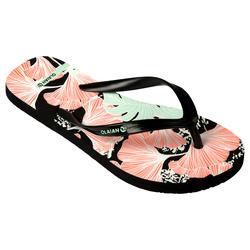 女童款夾腳拖鞋120-旋花款