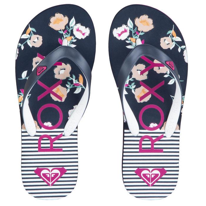 Slippers voor meisjes Tahiti Stripes blauw