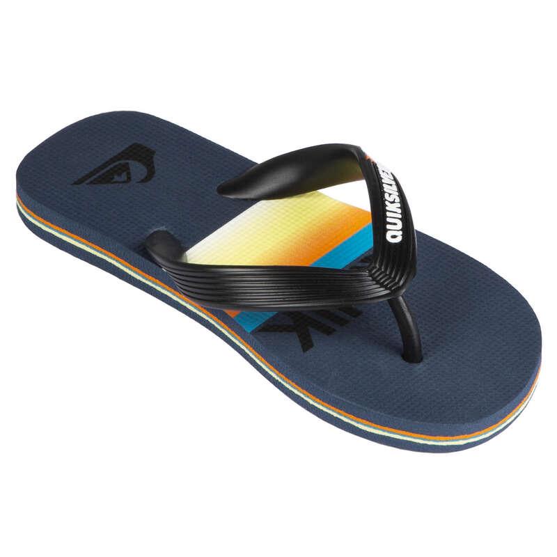 Gyerek papucs Strand, szörf, sárkány - Gyerek strandpapucs Molokai  QUIKSILVER - Bikini, boardshort, papucs