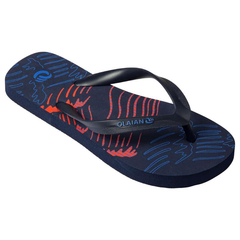 Gyerek papucs Strand, szörf, sárkány - Fiú strandpapucs 120 Jap  OLAIAN - Bikini, boardshort, papucs
