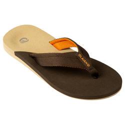 Slippers voor jongens 550 bruin