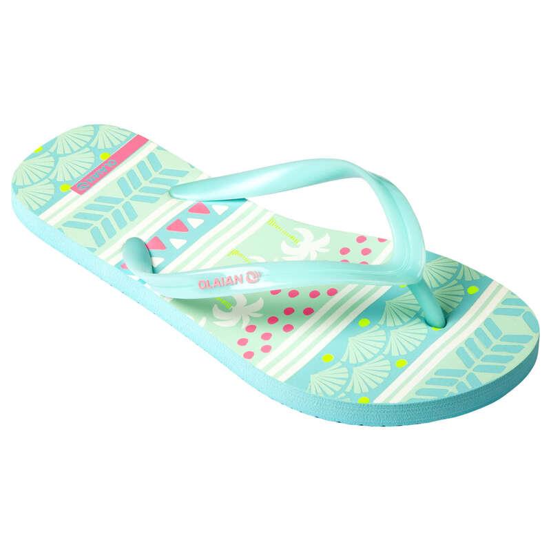 ÎNCĂLȚĂMINTE ALUNECARE JUNIOR Descopera Produsele Reduse - Papuci TO 120 Fete OLAIAN - COPII