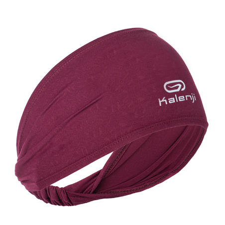 SUMMER HEADBAND GIRL - BURGUNDY