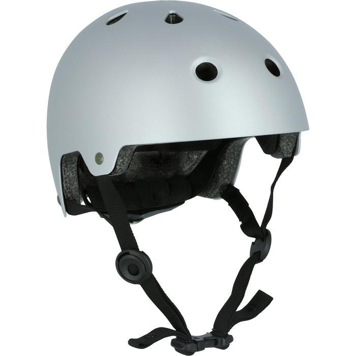 Casco de roller skateboard patinete PLAY 5 gris