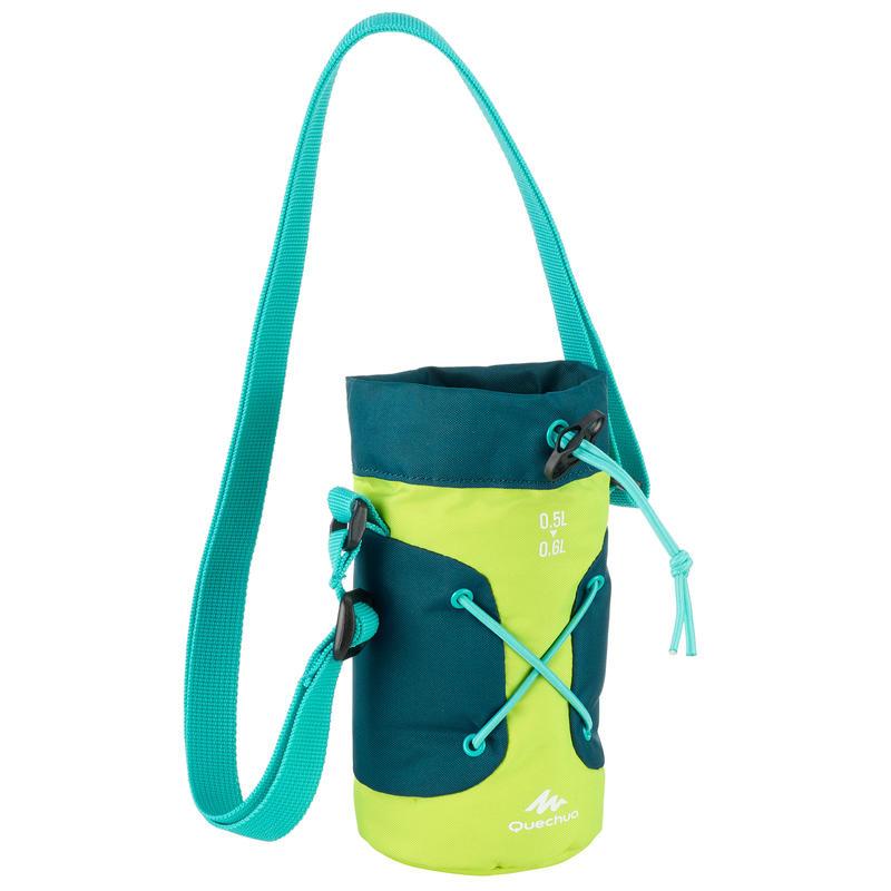 ปลอกหุ้มขวดน้ำเก็บอุณหภูมิสำหรับการเดินป่า (สีเหลือง/เขียว)
