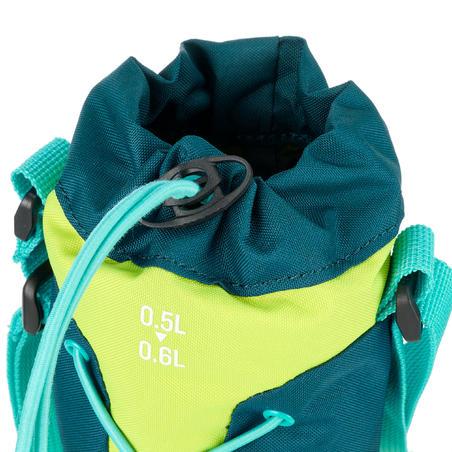 Insulated flask untuk hiking 0,5 hingga 0,6 Kuning/hijau