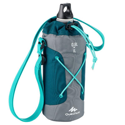 Isothermal Cover for Hiking Flasks - Grey/Blue