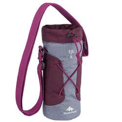 Isolatiehoes voor drinkfles wandelen 0,75-1 liter paars