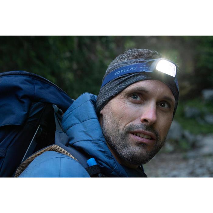 Tour de cou de Trekking montagne multi-position - TREK 100 noir