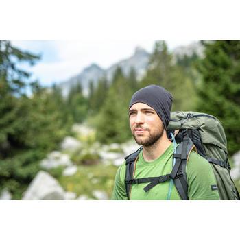 Muts voor bergtrekking merinowol Trek 500 zwart