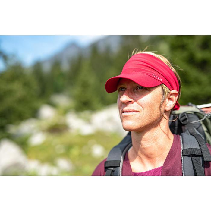 Ultracompacte pet voor bergtrekking Trek 100 roze