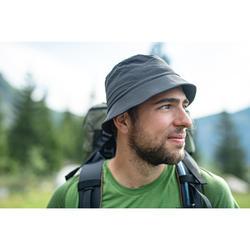 Wandelhoed voor bergtrekking Trek 100 donkergrijs