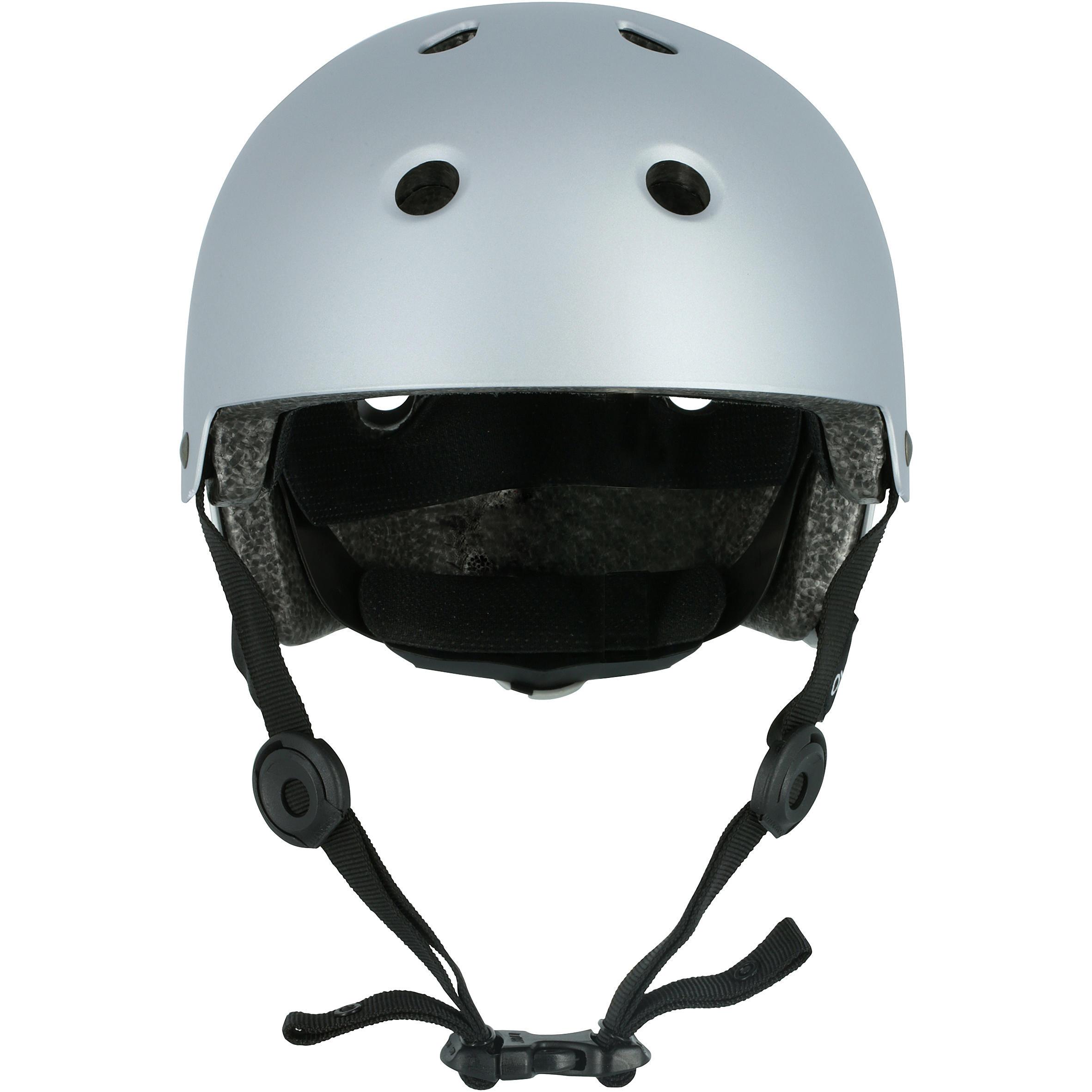 Play 5 Skateboard Scooter Skating Helmet - Grey