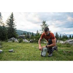 Slaapzak voor trekking Trek 500 10° light grijs