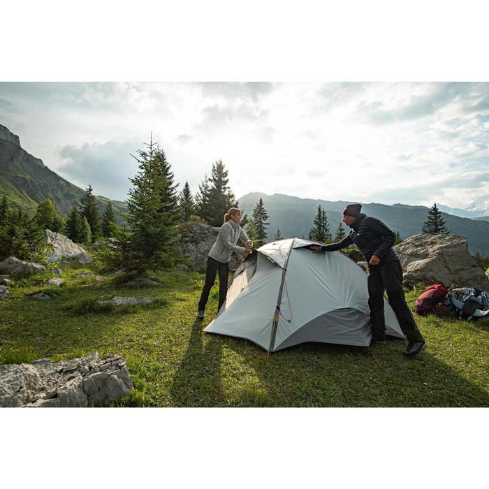 Koepeltent trekking 3 seizoenen Trek 500 Fresh & Black 3 personen