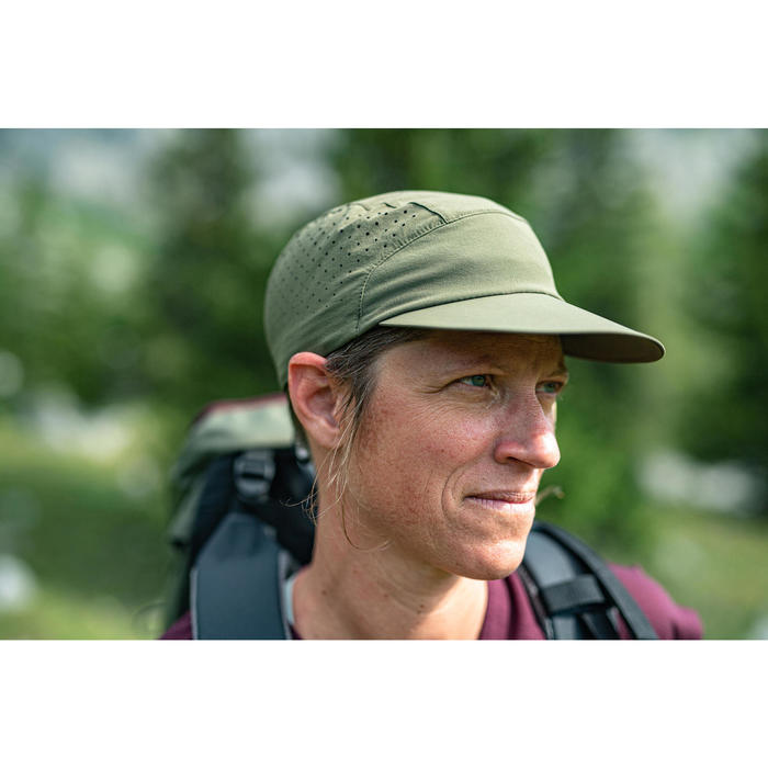 Mountain Trekking Cap, Ventilated and Ultra Compact