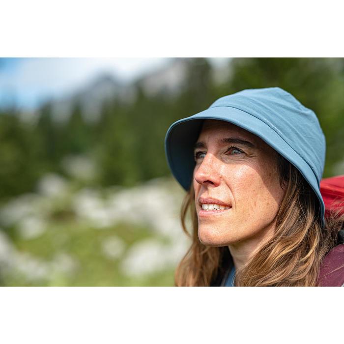 Chapeau de Trekking montagne - TREK 100 bleu