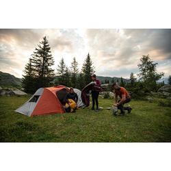 Sac de couchage de trekking - TREK 500 5° bordeaux