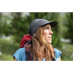 Ultracompacte pet voor bergwandelen Trek 100 donkergrijs